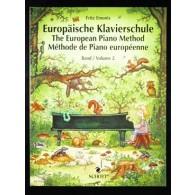 EMONTS F. METHODE DE PIANO EUROPEENNE VOL 2 PIANO