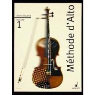 VOLMER B. METHODE ALTO VOL 1