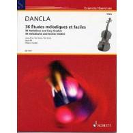 DANCLA C. 36 ETUDES MELODIQUES ET FACILES OP 84 ALTO