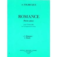 TOLBECQUE A. ROMANCE VIOLONCELLE