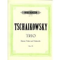TCHAIKOWSKY P.I. TRIO OP 50