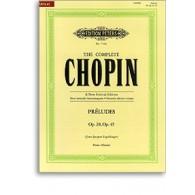 CHOPIN F. PRELUDES OP 28 OP 45 PIANO