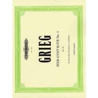 GRIEG E. PEER GYNT SUITES N°1 ET 2 PIANO 4 MAINS