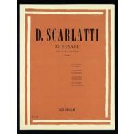 SCARLATTI D. 25 SONATES CLAVECIN
