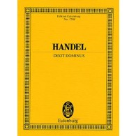 HAENDEL G.F. DIXIT DOMINUS SCORE
