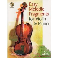 COWLES C. EASY MELODIC FRAGMENTS VIOLON