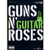 GUNS N' ROSES AUTHENTIC PLAYALONG GUITARE