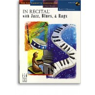 IN RECITAL WITH JAZZ BLUES RAGS VOL 2 PIANO