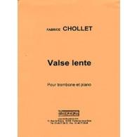 CHOLLET F. VALSE LENTE TROMBONE