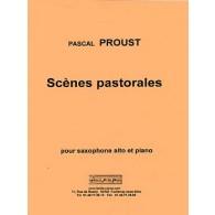 PROUST P. SCENES PASTORALES SAXO ALTO