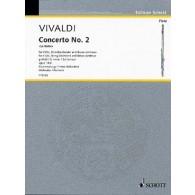 VIVALDI A. CONCERTO OP 10/2 FLUTE