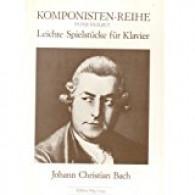 BACH  J.C. LEITCHE SPIELSTUCKE PIANO