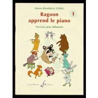 COHU M.B. RAGOON APPREND LE PIANO VOL  1