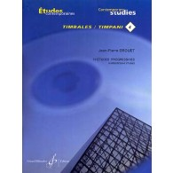 DROUET J.P. 18 ETUDES PROGRESSIVES VOL 4 TIMBALES