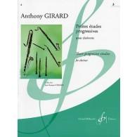 GIRARD A. PETITES ETUDES PROGRESSIVES VOL 3 CLARINETTE