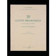 GRIMOIN A. LECONS PROGRESSIVES DE SOLFEGE VOL 3B