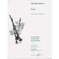 DELERUE G. ELEGIA CLARINETTE