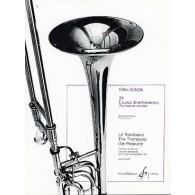 SENON G. 24 ETUDES DIVERTISSANTES TROMBONE