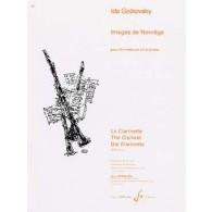 GOTKOVSKY I. IMAGES DE NORVEGE CLARINETTE