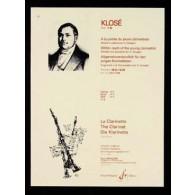 KLOSE H. A LA PORTEE DU JEUNE CLARINETTISTE VOL 1 CLARINETTE