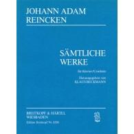 REINCKEN J.A. COMPLETE PIANO WORKS