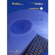 NAULAIS J. ETUDES VARIEES DE STYLE VOL 1 TROMBONE