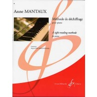 MANTAUX A. METHODE DE DECHIFFRAGE PIANO