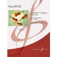 RODE P. 1ER SOLO DU 1ER CONCERTO VIOLON