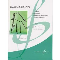 CHOPIN F. 3 VALSES 4 CLARINETTES