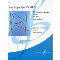 CAMUS P.H. 20 ETUDES FLUTE