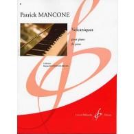 MANCONE P. VOLCANIQUES PIANO