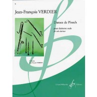 VERDIER J.F. DANSES DE PINTCH CLARINETTE