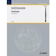 WIDMANN J. FANTASIE CLARINETTE SOLO