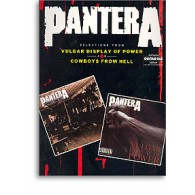 PANTERA VULGAR DISPLAY O POWER COWBOYS FROM HELL GUITARE