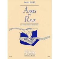 FAURE G. APRES UN REVE ALTO (OU VIOLONCELLE OU VIOLON)