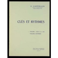 GARTENLAUB O. CLES ET RYTHMES VOL 1