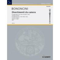 BONONCINI G.B. DIVERTIMENTI DA CAMERA VOL 4 FLUTE A BEC SOPRANO