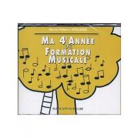 SICILIANO M.H. MA 4ME ANNEE DE FORMATION MUSICALE CD