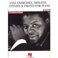PETERSON O. JAZZ EXERCISES MINUETS ETUDES PIECES PIANO