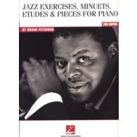 PETERSON O. JAZZ EXERCISES MINUETS ETUDES PIECES PIANO