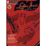 JAZZ PLAY ALONG VOL 23 LATIN JAZZ C EB BB
