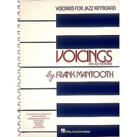 MANTOOTH F. VOICINGS FOR JAZZ PIANO