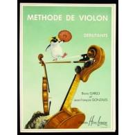 GARLEJ B. / GONZALES J.F. METHODE DE VIOLON VOL 1