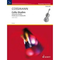 COSSMANN B. CELLO STUDIES