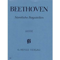 BEETHOVEN L. BAGATELLES PIANO