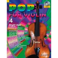 POP FOR VIOLIN 4 BRIGHT EYES VIOLON