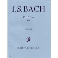 BACH J.S. 3 PARTITAS VOL 1 PIANO