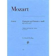 MOZART W.A. FANTAISIE SONATE DO MINEUR PIANO