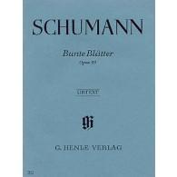 SCHUMANN R. BUNTE BLATTER OP 99 PIANO