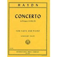 HAYDN J. CONCERTO RE MAJEUR FLUTE